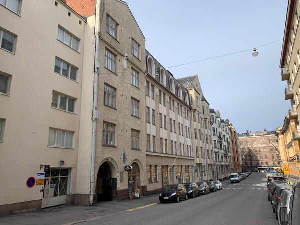 Vuokrataan Kerrostalo Kaksio Helsinki Kruununhaka Mariankatu 24