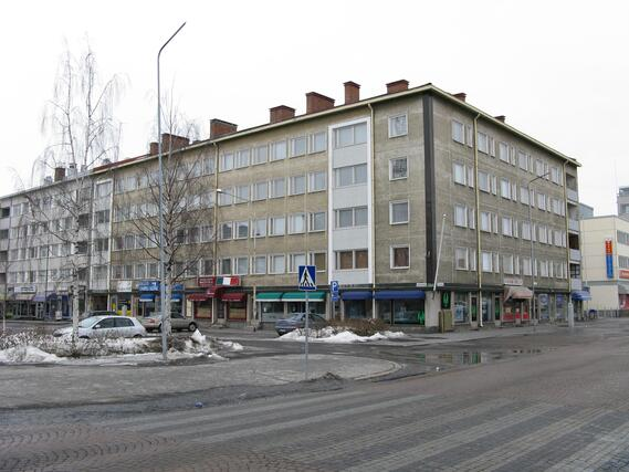 autopaikka oulu keskusta