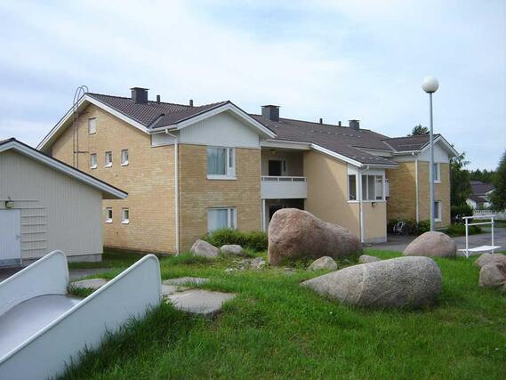 Asumisoikeusasunto Luhtitalo Kaksio Oulu Herukka Riekonmarjatie 20
