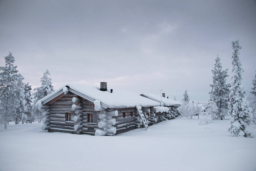Log cabin in Saariselkä