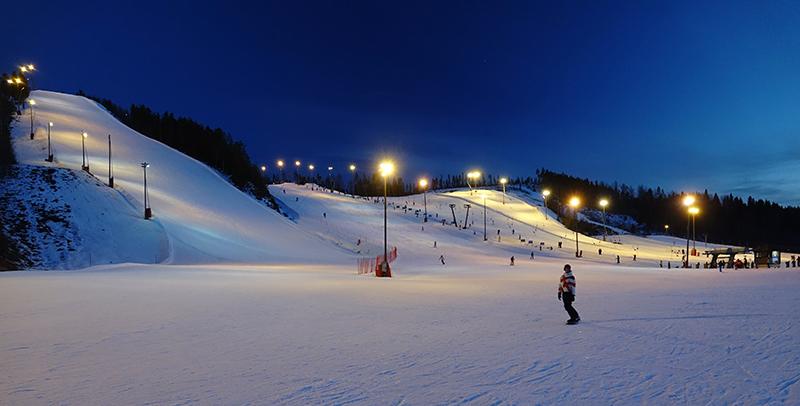 himos ski resort gofinland fi